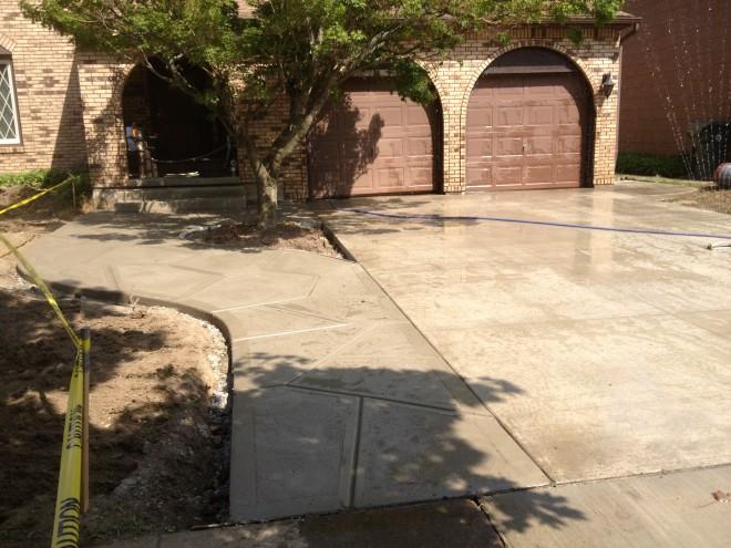 Concrete driveway sidewalk Buffalo NY
